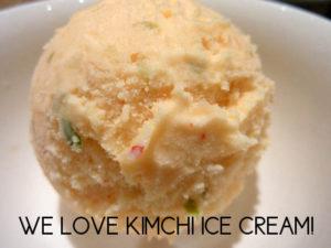 Kimchi Ice Cream rat surprise!