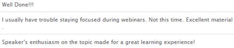 Compliments webinar Events