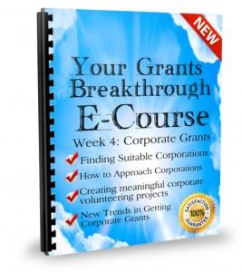 Week 4: Corporate Grants