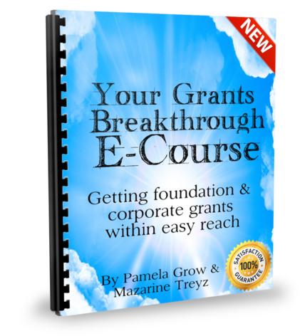 Your Grants Breakthrough